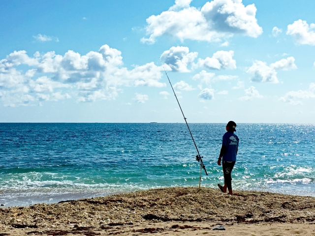 投げ釣り 砂浜 釣り