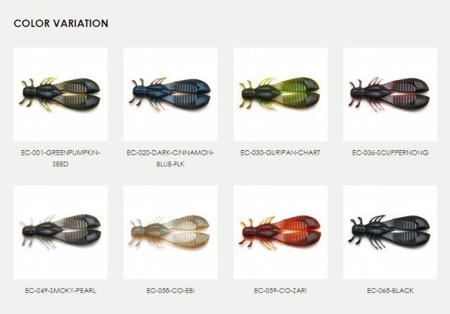 レイドジャパン「エグチャンク」の色は全8種類展開!